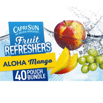 Capri Sun Aloha Mango Naturally Flavored Juice Drink Blend