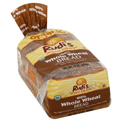 Rudis Bread, 100% Whole Wheat