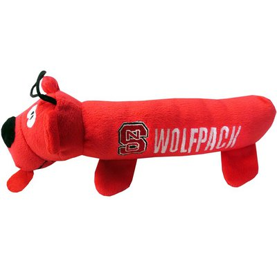 Pets First North Carolina State Wolfpack Tube Toy for Pets