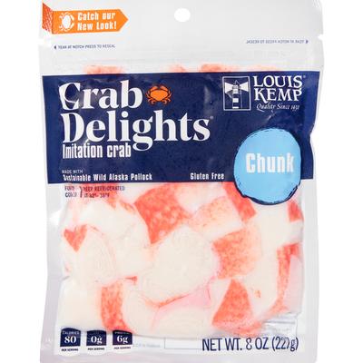 Louis Kemp Imitation Crab, Chunk