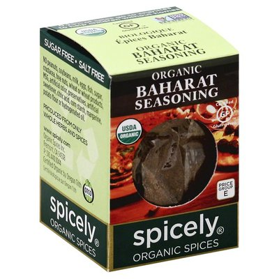 Spicely Organics Seasoning, Baharat, Organic