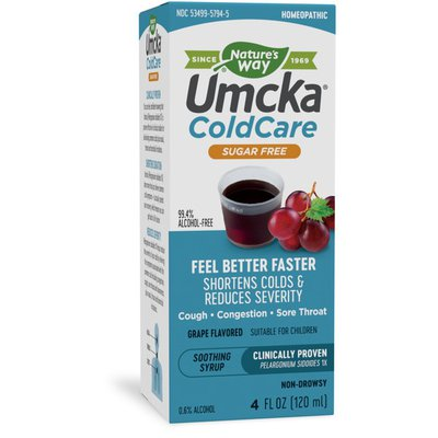 Nature's Way Umcka® ColdCare Sugar-Free Syrup