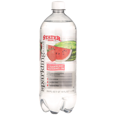 Stater Bros Strawberry Watermelon Sparkling Water