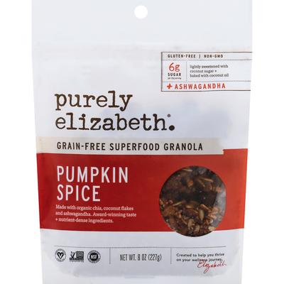 Purely Elizabeth Granola, Superfood, Pumpkin Spice