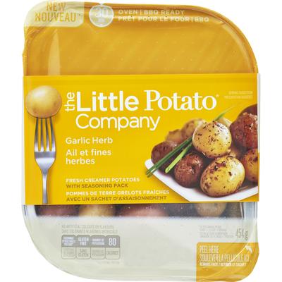 The Little Potato Potatoes, Fresh Creamer, Garlic Herbs