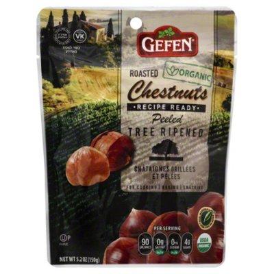 Gefen Chestnuts, Organic, Whole, Roasted & Peeled