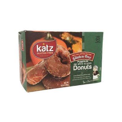 Katz Gluten-free Pumpkin Pie Spice Glazed Donuts