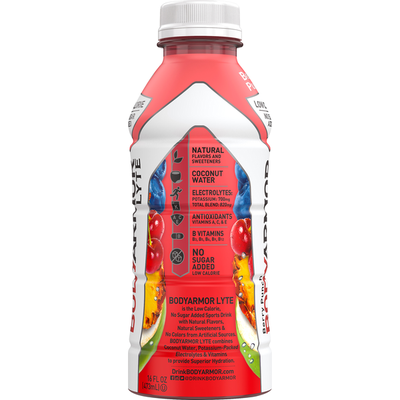 BODYARMOR Sports Drink, Low Calorie, Berry Punch