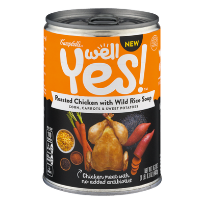 Campbell's® Well Yes!® Well Yes Roasted Chicken with Wild Rice Soup