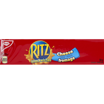Ritz Crackers, Snackwiches, Cheese Flavor