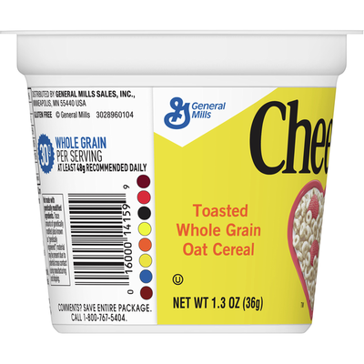 Cheerios Cereal, Gluten Free, Whole Grain Oat, Toasted