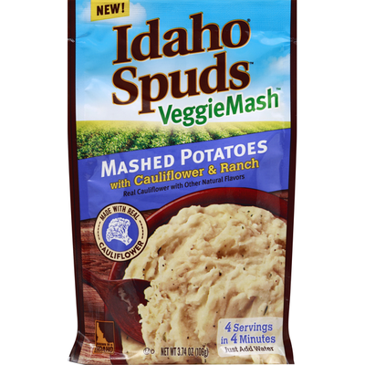 Idaho Spuds Mashed Potatoes, with Cauliflower & Ranch