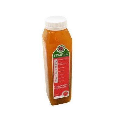 Temple Turmeric Organic Strawberry Lemon-ade