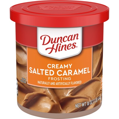 Duncan Hines Frosting, Creamy Salted Caramel