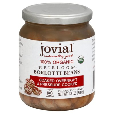 Jovial Borlotti Beans, Heirloom, 100% Organic