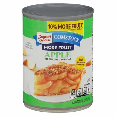 Duncan Hines Pie Filling & Topping, Apple, More Fruit