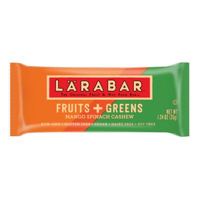 Larabar ™ Fruits + Greens Mango Spinach Cashew Fruit & Nut Bars