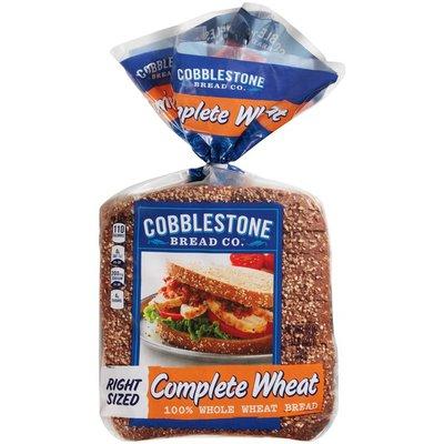 Cobblestone Bread Company Complete Wheat 100% Whole Wheat Bread