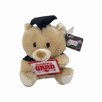 "6"" Graduation Bear Plush Toy"