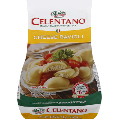 Rosina Ravioli, Cheese