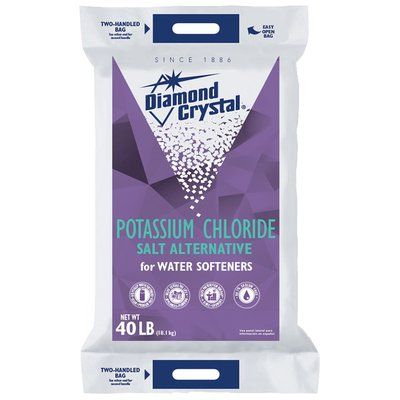 Diamond Crystal Potassium Chloride for Water Softeners Diamond Crystal Potassium Chloride for Water Softeners