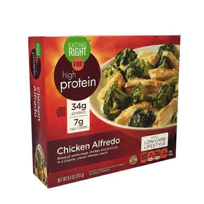 Eating Right for High Protein Chicken Alfredo
