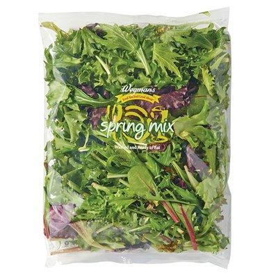 Wegmans Spring Mix Salad