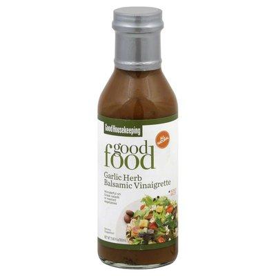 Feel Good Foods Vinaigrette, Garlic Herb Balsamic