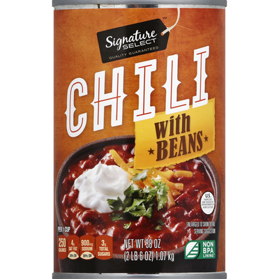 Signature Select Chili, with Beans