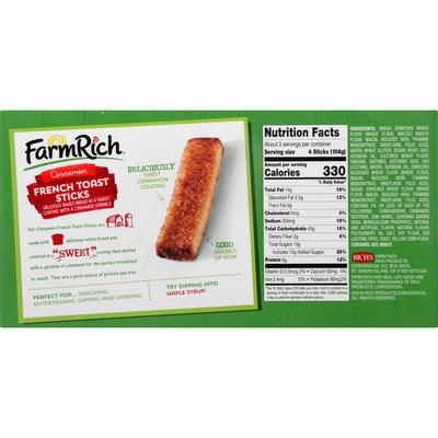 Farm Rich Cinnamon French Toast Sticks