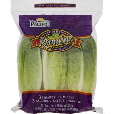 Pacific Lettuce Romaine Hearts