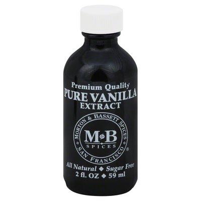 Morton & Bassett Spices Vanilla Extract, Pure