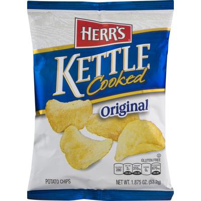 Herr's Kettle Cooked Original Potato Chips
