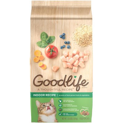 Goodlife A Thoughtful Recipe Indoor Recipe Dry Cat Food