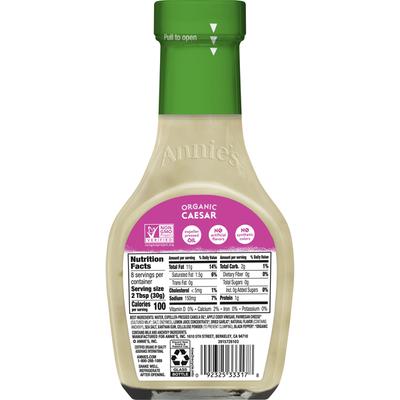 Annie's Caesar Salad Dressing, Certified Organic, Non-GMO