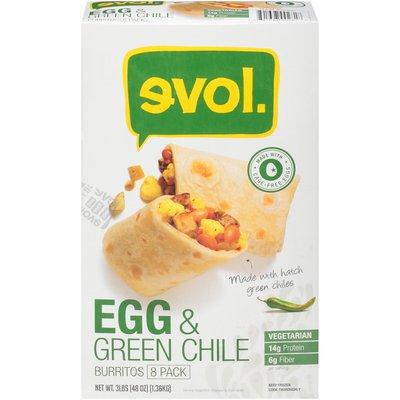 Evol Foods Egg and Green Chile Burritos