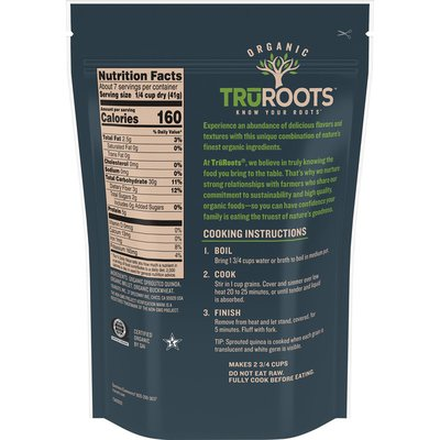 truRoots Organic Sprouted Quinoa & Ancient Grain Medley