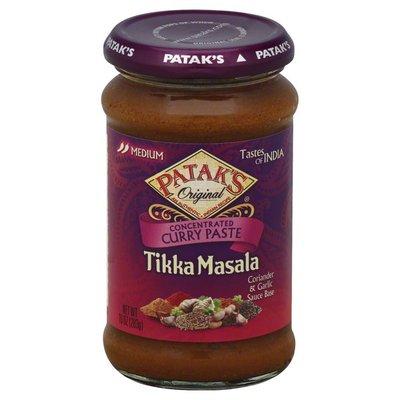 Pataks Spice Paste, Tikka Masala Curry, Medium