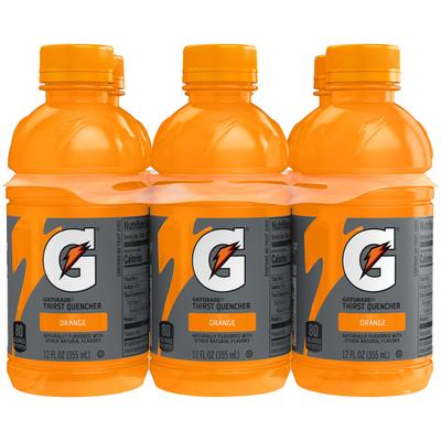 Gatorade Thirst Quencher, Orange, 6 Pack