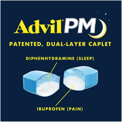 Advil PM Pain Reliever and Sleep Aid, PM Pain Reliever and Sleep Aid