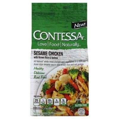 Contessa Sesame Chicken, with Brown Rice & Quinoa
