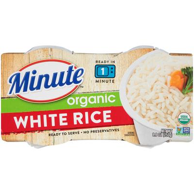Minute Rice Organic White Rice