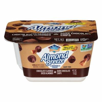 Almond Breeze Vanilla Almondmilk Yogurt with Chocolate Flavored Almonds and Dark Chocolate Chips