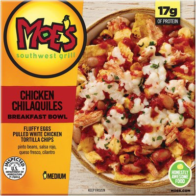 Kellogg's Moe's Southwest Grill Chicken Chilaquiles Medium Breakfast Bowl