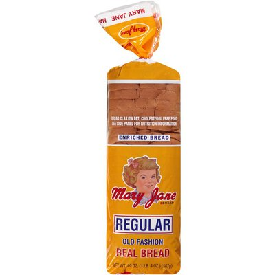 Mary Jane and Friends Regular Old Fashion Bread