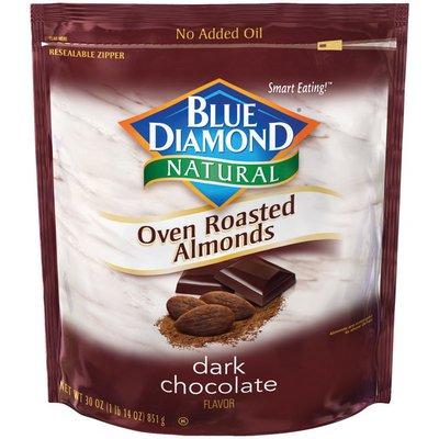 Blue Diamond Almonds Natural Oven Roasted Dark Chocolate Almonds