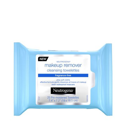 Neutrogena® Makeup Remover Cleansing Towelettes, Fragrance Free
