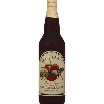 Docs Hard Apple Cider, Raspberry