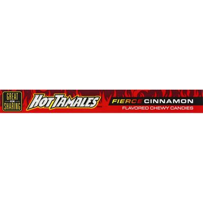 Hot Tamales Candies, Fierce Cinnamon, Chewy