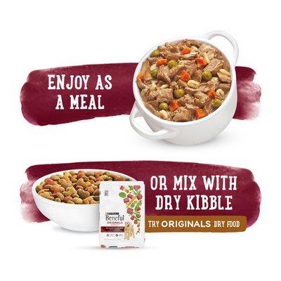 Purina Beneful High Protein, Gravy Wet Dog Food, Prepared Meals Beef Stew